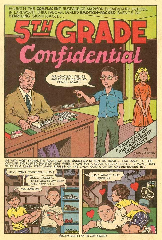 Adult comic vintage