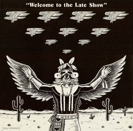 Welcome to the Late Show print